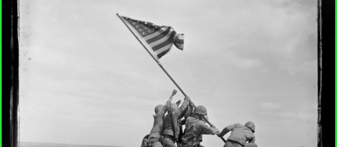 AP will auction an NFT based on this iconic WWII photo.
